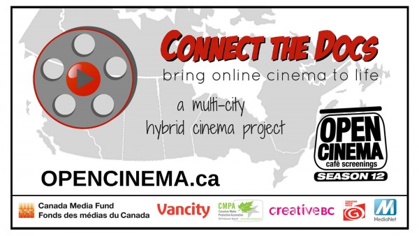 OPEN CINEMA Connect the Docs slide