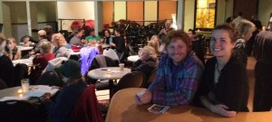 photo of a happy crowd at OPEN CINEMA