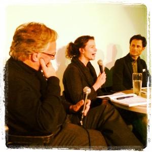 photo of Dr. Rick Kool, Lisa Lockerbie and Todd Carnahan