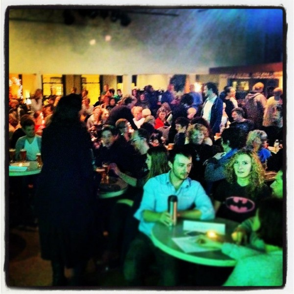 Standing-room only at Occupy Love Victoria Premiere