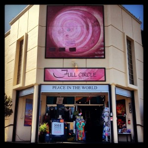 photo of the front of Full Circle Studio Arts store.