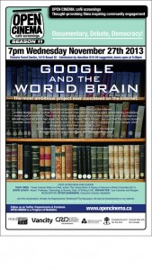 Google and the World Brain poster