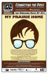 poster for My Prairie Home March 26, 2014
