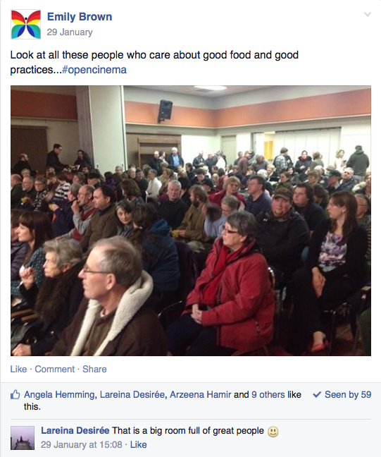 photo of the Charlottetown audience for Island Green, Jan 29, 2014