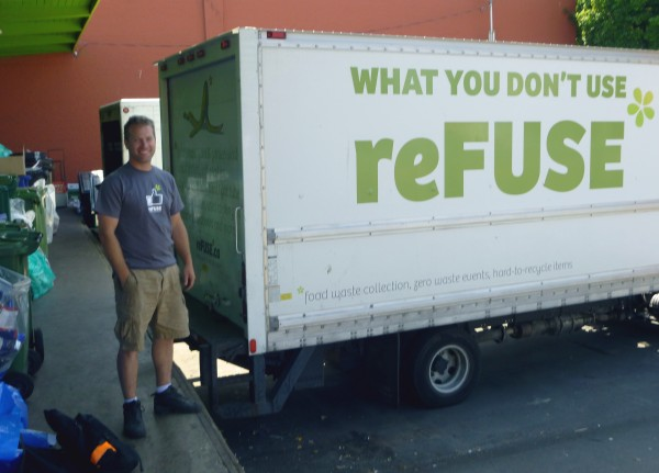 photo of Jason Adams, reFUSE Resource Recovery