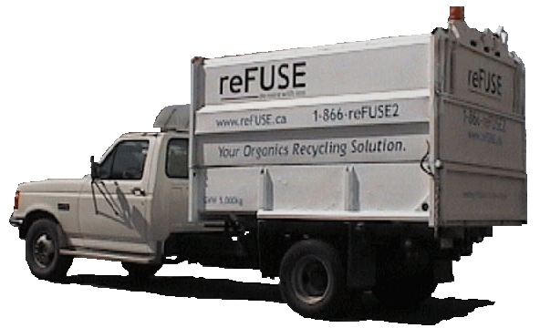 photo of reFUSE Resource Recovery's first truck!